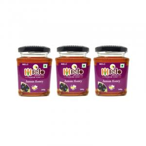 Mielo Jamun Honey 1 kg (Combo pack of 3 )
